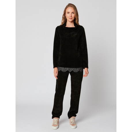 Pyjama chaud CORTINA 902 Noir