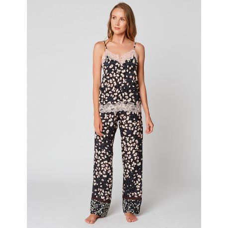 Pyjama caraco imprimé POPPY 904