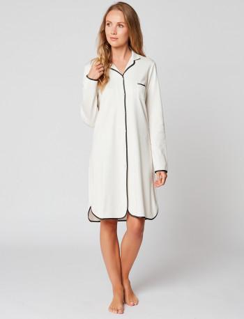 Button-down nightdress 100% cotton ESSENTIEL ESSENTIEL H05A Ecru