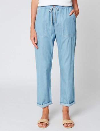 Pantalon chambray FORMENTERA 181