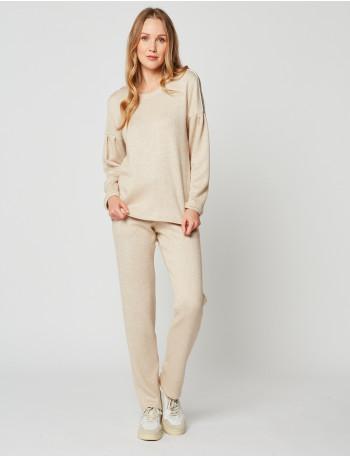 Sweatshirt MAILLE LOVE 230 Miel