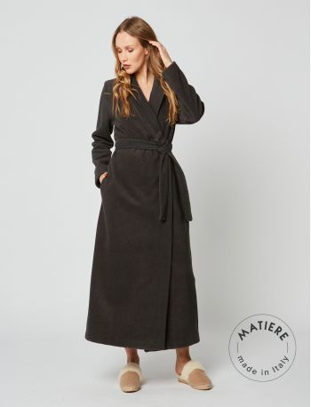 Wraparound robe ESSENTIEL 262 Slate grey